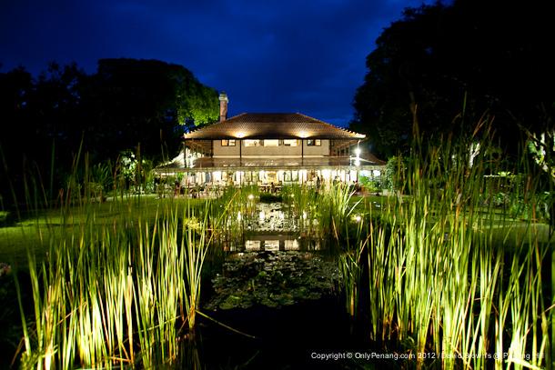 Night View of David Brown's at Penang Hill