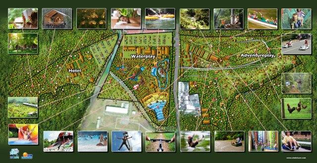 Penang Escape Theme Park Games Location