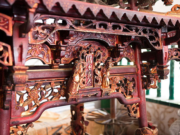 Penang Snake Temple Architecture, since 1850