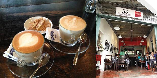 55 Café, Lorong Stewart