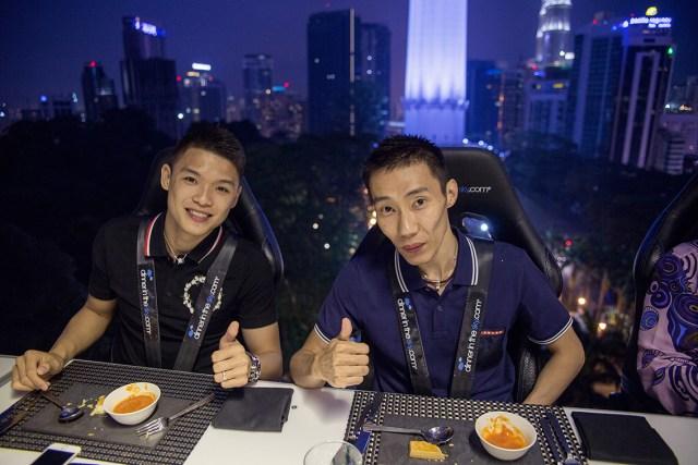 Dinner In The Sky Malaysia, Kuala Lumpur, Lee Chong WEI