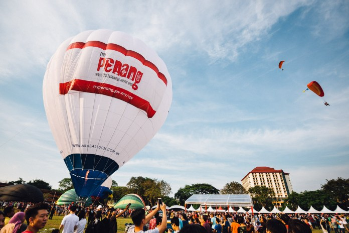 Penang Hot Air Balloon Fiesta 2016