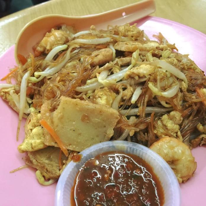 Penang Simpang Ampat Kheng Hai Kopitiam Fried Tanghun RM4