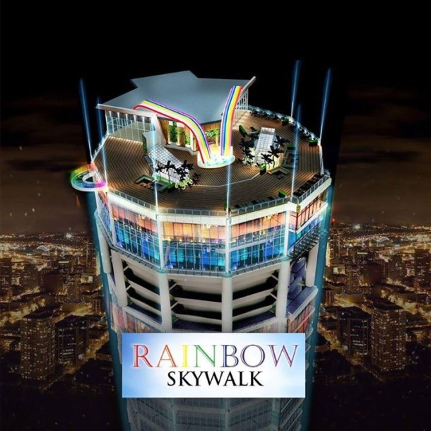 Penang Rainbow Skywalk Komtar