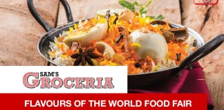 SAM'S Groceria Flavours of The World Food Fair 2016