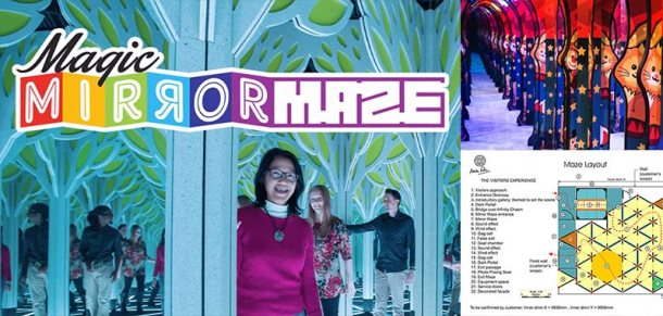 Penang Magic Mirror Maze