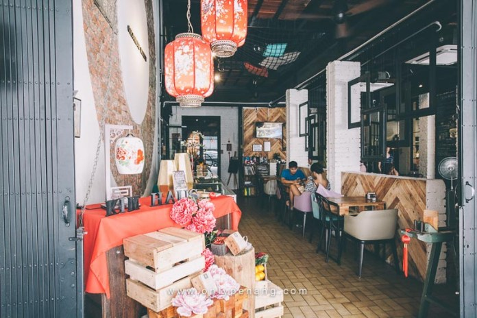 Penang, Georgetown Campbell Street Cafe
