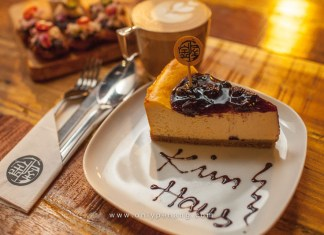 Kim Haus Blueberry cheesecake. RM15.90