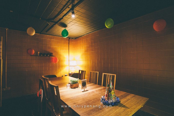 A cozy room for event or small party