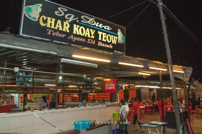 Sg Dua Char Koay Teow In Butterworth, Telur Ayam Di Basuh 3