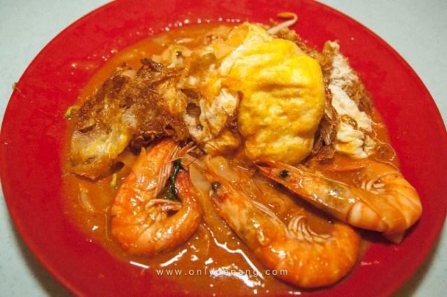 Sg Dua Char Koay Teow In Butterworth, Telur Ayam Di Basuh 1