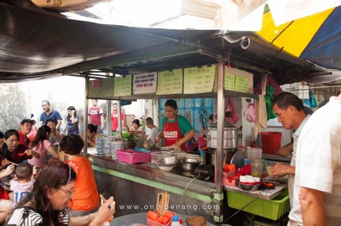 Bukit Mertajam Pek Kong Cheng Hawker Area 1