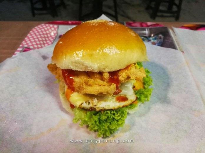 Penang bojio burger