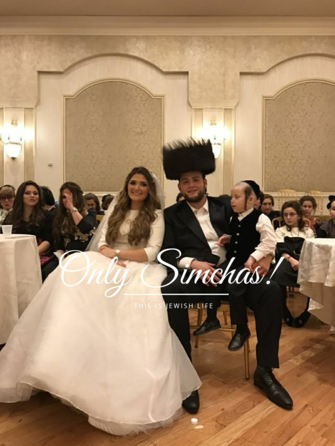 wedding of yoina buxbaum williamsburg rivky weiss boro park only simchas. Black Bedroom Furniture Sets. Home Design Ideas