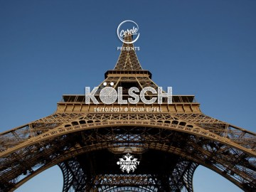 Kölsch to perform on the Eiffel Tower