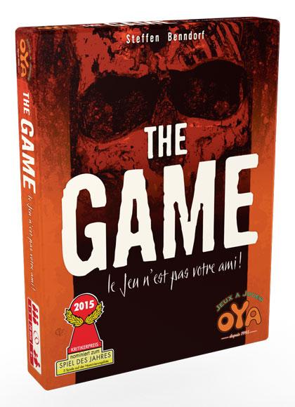 boite du jeu the game