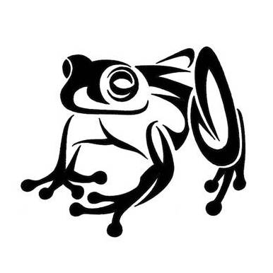 20 Frog Tattoos Black And White Pattern Ideas And Designs