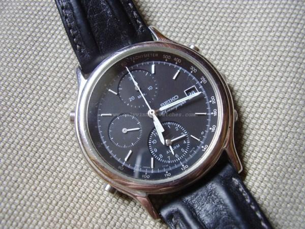 Vintage Seiko Quartz Chronograph 7T32-6A5A