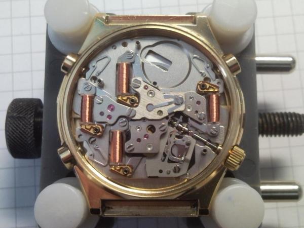 Service Seiko 7axx Quartz Chronograph