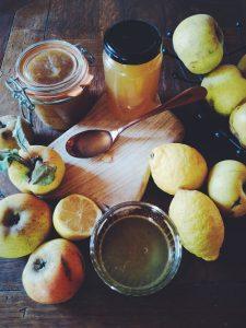 Gelée de pommes à la vanille