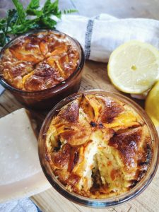 cake salé aux légumes et parmesan - recette facile, préparation rapide