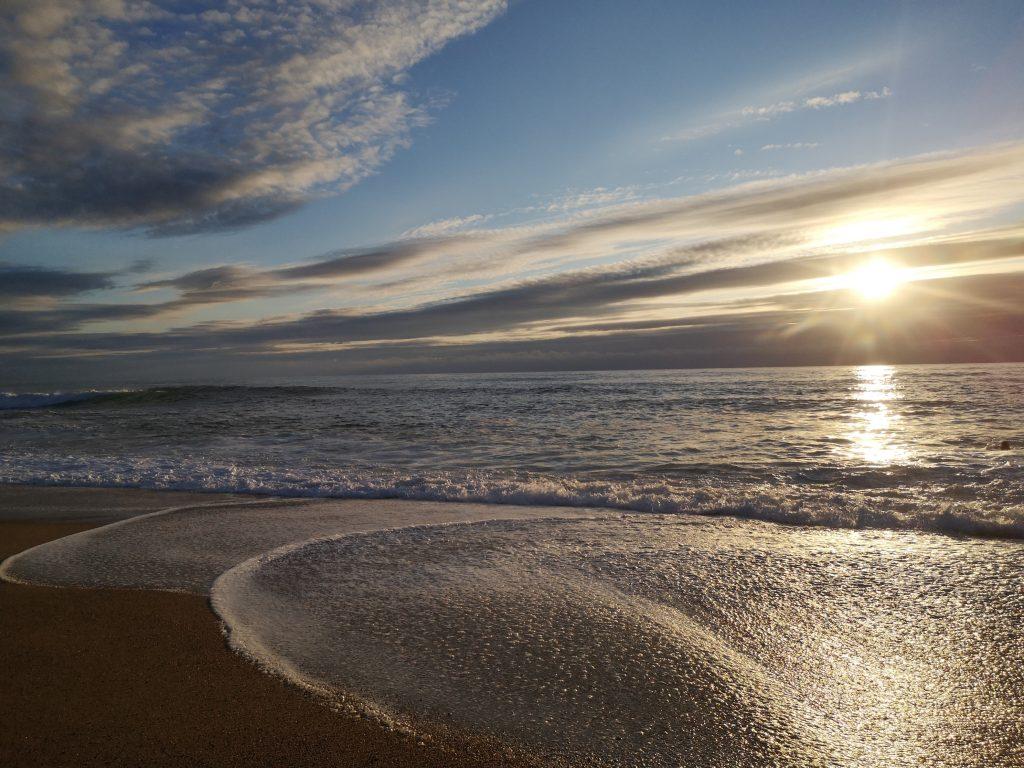 jeûne à la plage