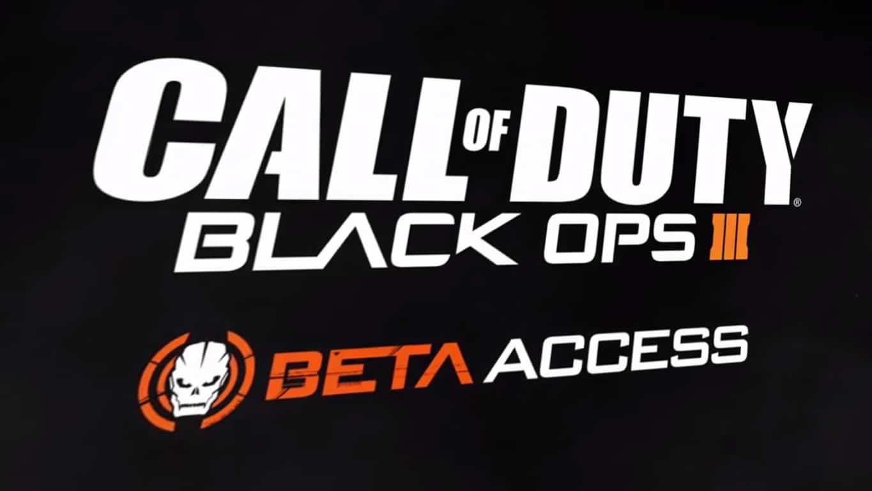 Call Of Duty: Black Ops III – Multiplayer Beta