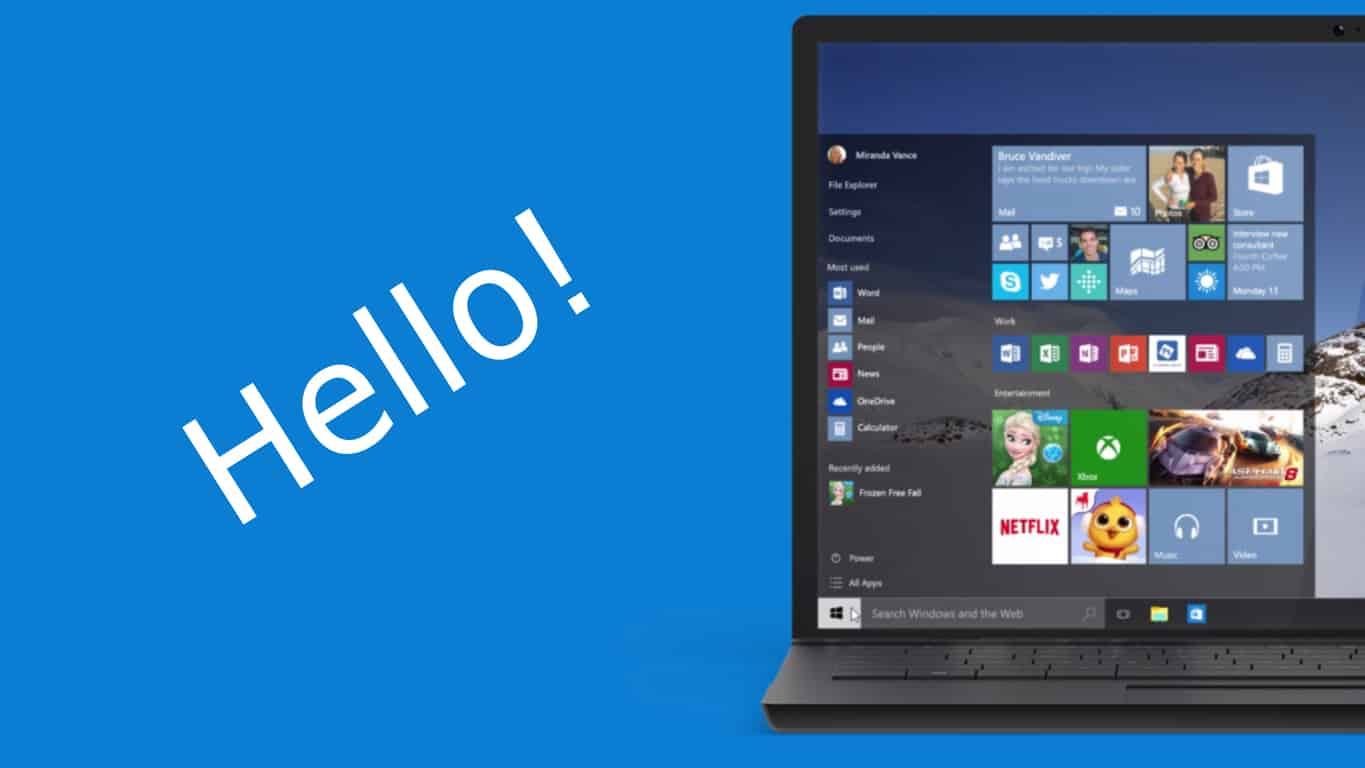 Windows 10 Windows Hello