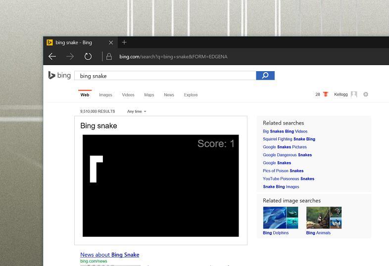 Bing SNake