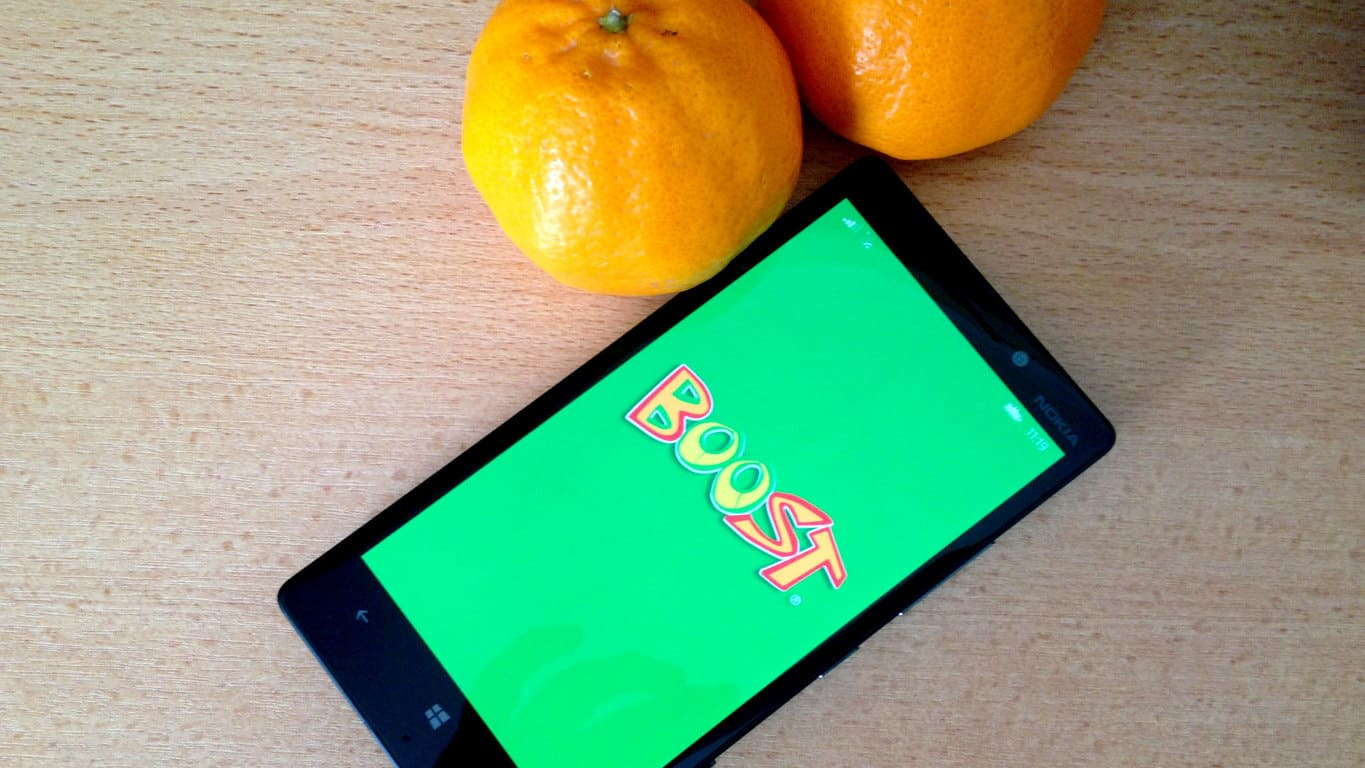 Windows Phone Boost Juice App