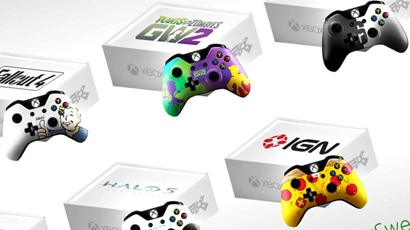 PAX Prime 2015 Xbox One Controllers