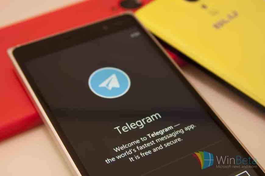 Telegram Messenger on Windows Phone