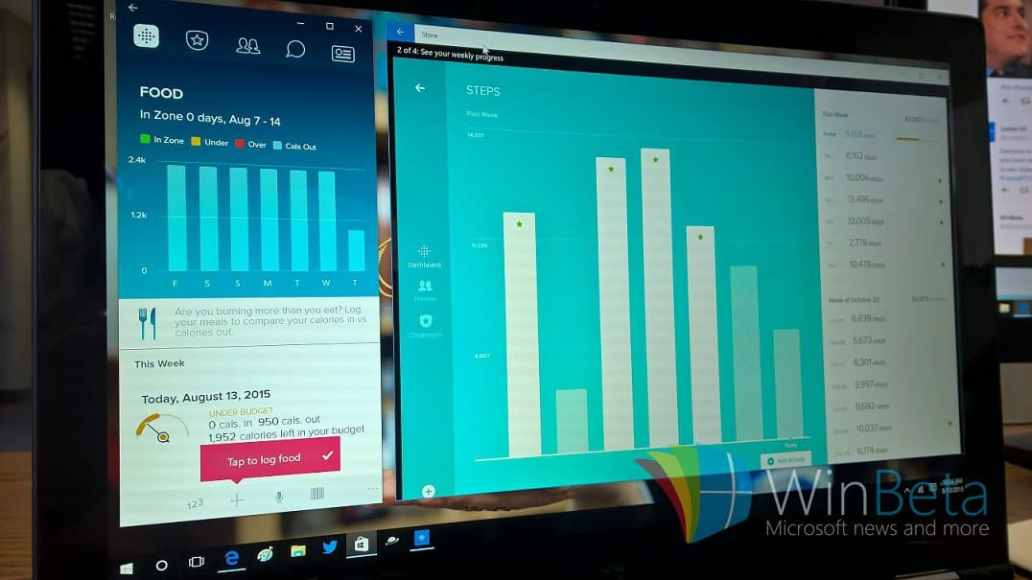 Fitbit app for Windows 10 and Phone 8 1 updated with new features