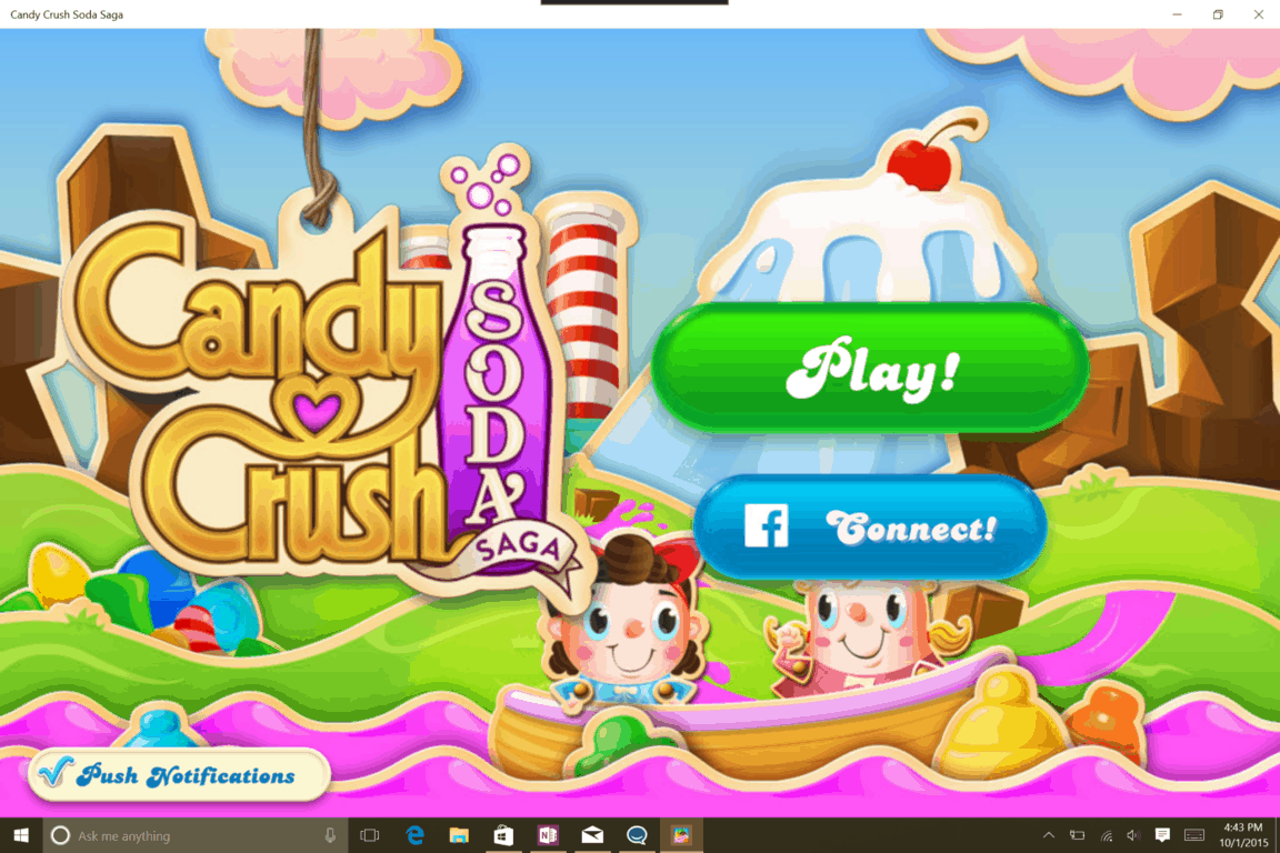 candy crush sofa couch bed chair soda saga is now available on windows 10 onmsft com back in july we reported that would come pre installed with this was a big win for as the lack of popular applications