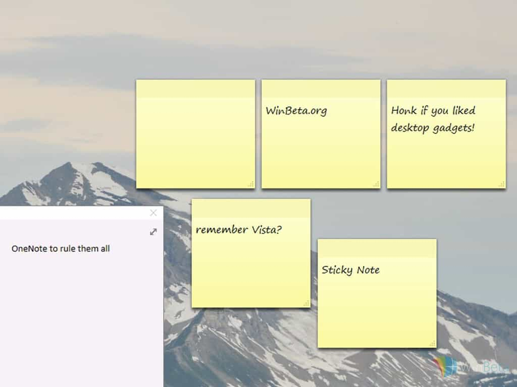 Windows 10 Sticky Notes app gets an update for Windows