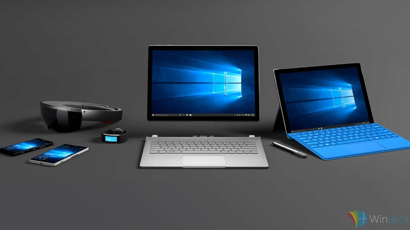 Surface Pro 4, Surface Book, HoloLens