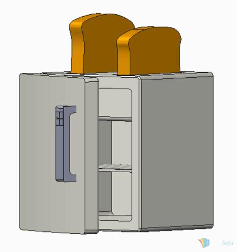 The mythological toaster fridge.