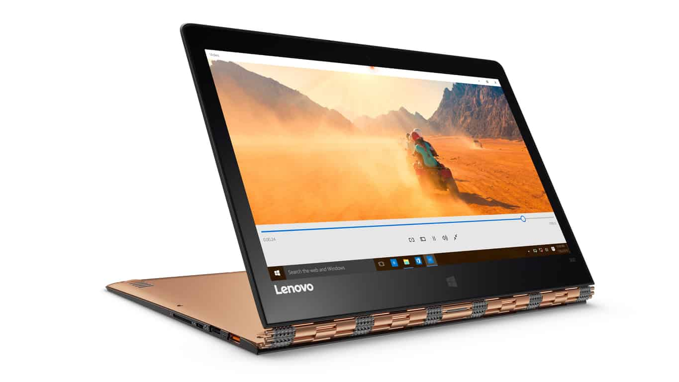 Yoga 900 Convertible Laptop and Yoga Home 900 Portable All-in-One Desktop