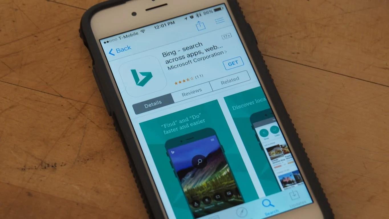 Bing for iPhone App