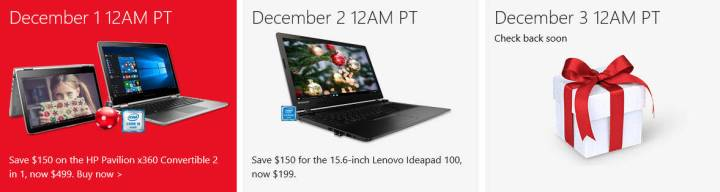 Day 2 brings us a Lenovo Ideapad for $199.