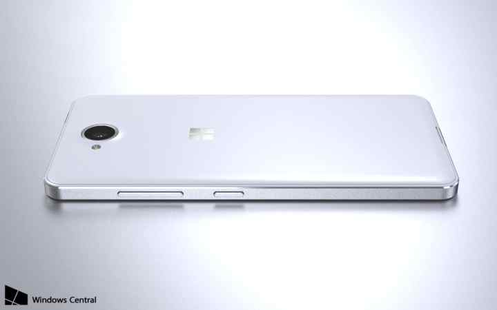 Lumia 650 Render - Back View