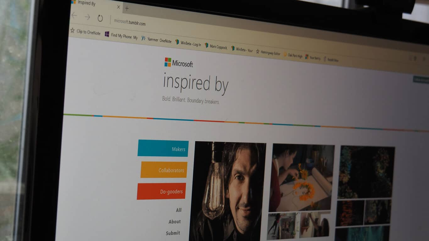 Microsoft - Tumblr - Inspired-by