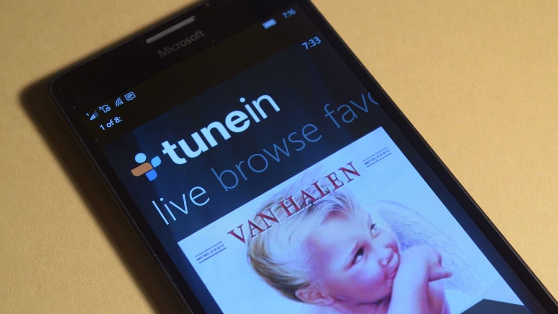 TuneIn Windows 10 app