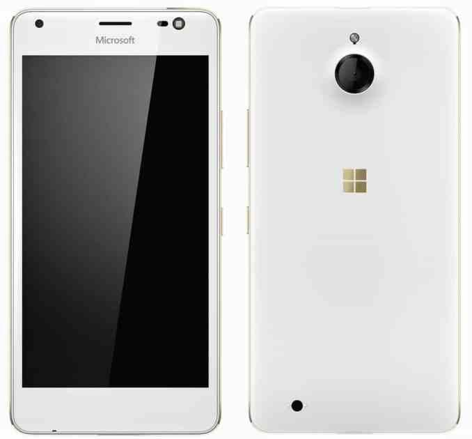 Lumia 850 Honjo front