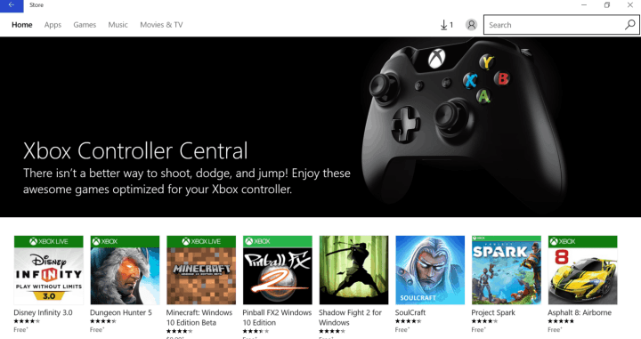 xbox controller app for pc