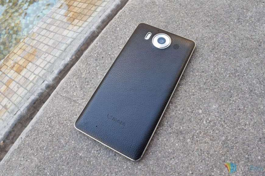 mozo 950  Review: Mozo Lumia 950 black leather back cover
