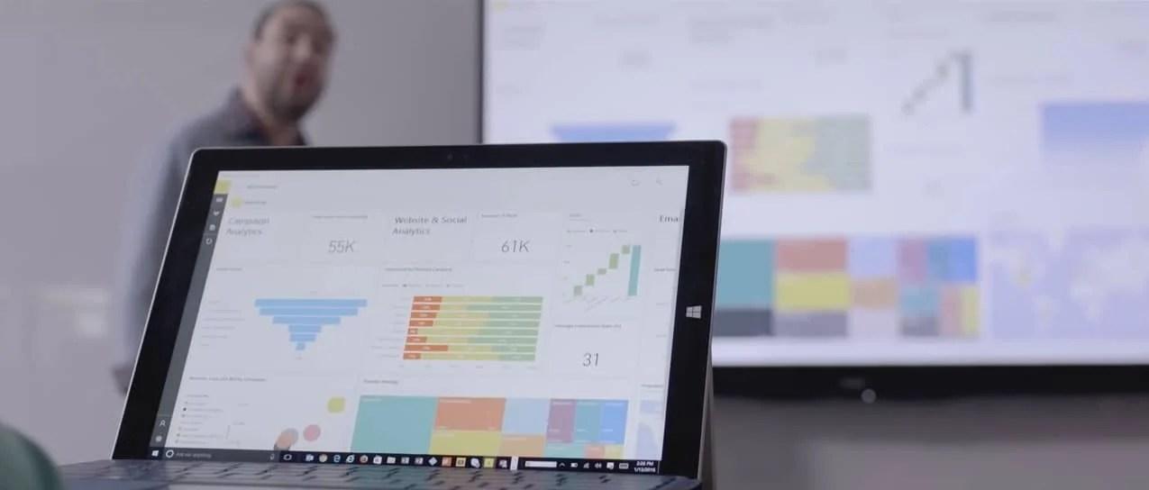 "Microsoft begins pushing its ""Power Platform:"" Power BI, Power Apps"