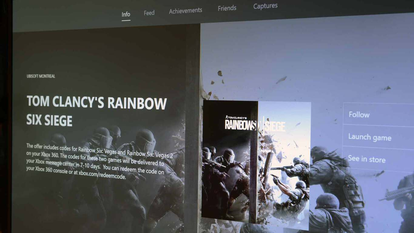 Rainbow Six Siege for Xbox One updated to version 1 2