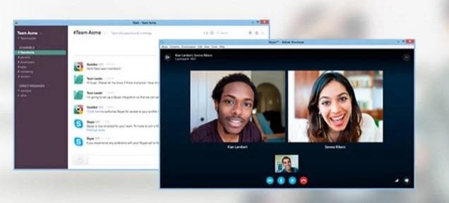 Slack Skype Integration Preview