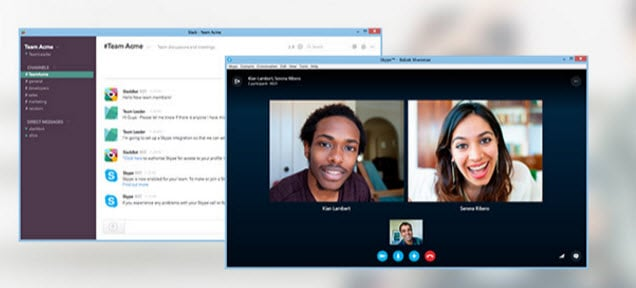 Slack Skype Integration Preview